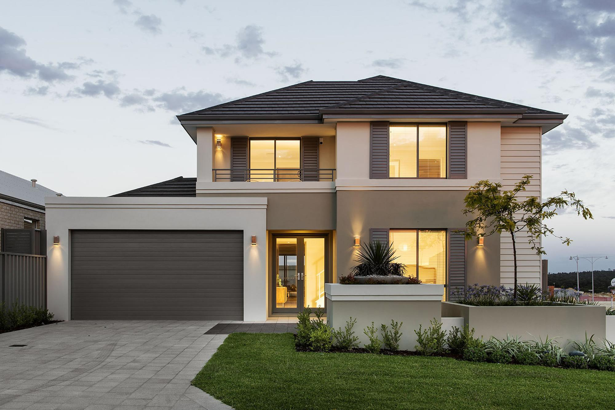 Home Design Ideas Build: When Is The Best Time To Build In Perth? In-Vogue 2 Storey