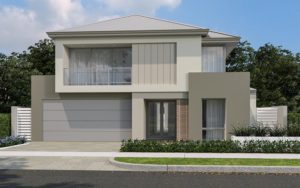 The Hailwood double storey home design by InVogue