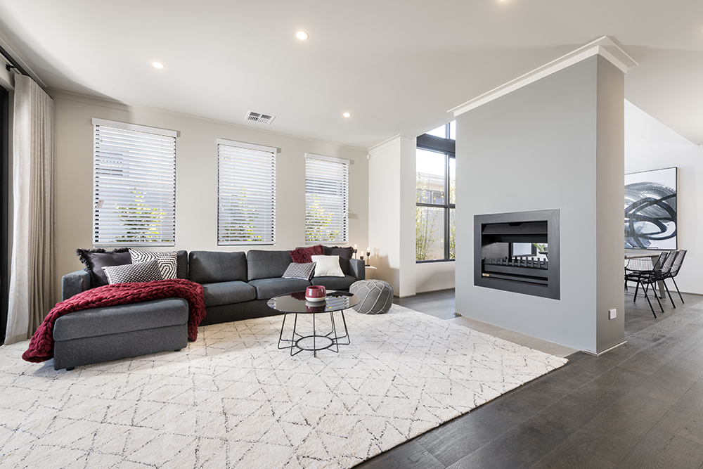 Double Storey Home With Fire Place InVogue Award Winning Perth Builder